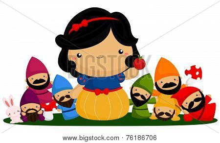 Princess and seven dwarf