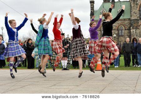 Dia de tartan em Ottawa 2010