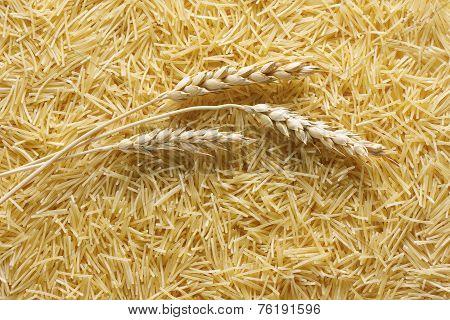 Pasta Vermicelli Background
