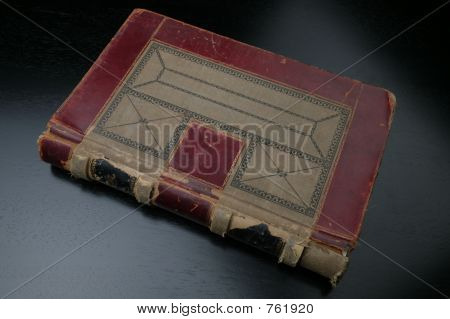 old ledger book