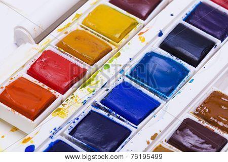 Artists Watercolour Paints
