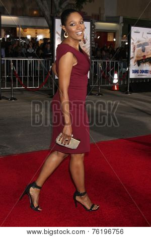 LOS ANGELES - NOV 3:  Tembi Locke at the Dumb and Dumber To Premiere at the Village Theater on November 3, 2014 in Los Angeles, CA