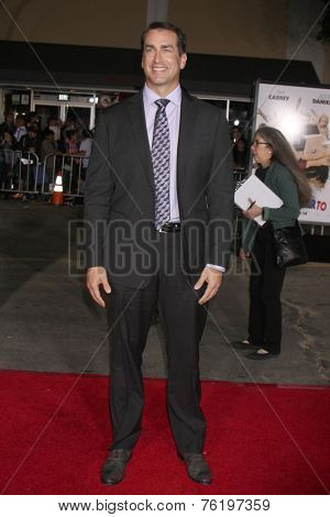 LOS ANGELES - NOV 3:  Rob Riggle at the Dumb and Dumber To Premiere at the Village Theater on November 3, 2014 in Los Angeles, CA