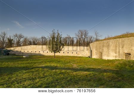 Medjit Tabia One Old Fortification Stronghold Near Silistra