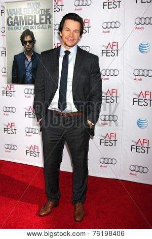 LOS ANGELES - NOV 10:  Mark Wahlberg at the