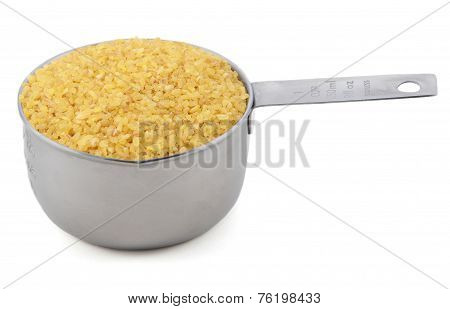 Bulgur Wheat In A Cup Measure