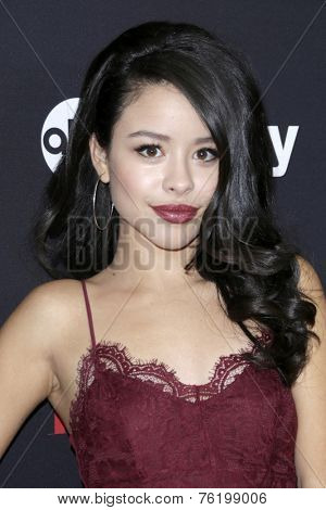 LOS ANGELES - NOV 13:  Cierra Ramirez at the Latina Magazine's '30 Under 30' Party at the Mondrian Hotel on November 13, 2014 in West Hollywood, CA