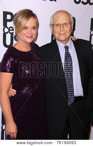 LOS ANGELES - NOV 11:  Amy Poehler, Norman Lear at the PEN Center USA 24th Annual Literary Awards at the Beverly Wilshire Hotel on November 11, 2014 in Beverly Hills, CA