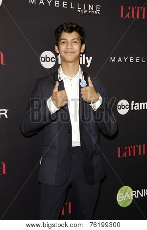 LOS ANGELES - NOV 13:  Xolo Mariduena at the Latina Magazine's '30 Under 30' Party at the Mondrian Hotel on November 13, 2014 in West Hollywood, CA