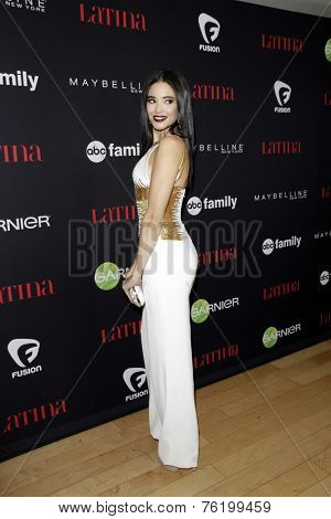 LOS ANGELES - NOV 13:  Edy Ganem at the Latina Magazine's '30 Under 30' Party at the Mondrian Hotel on November 13, 2014 in West Hollywood, CA