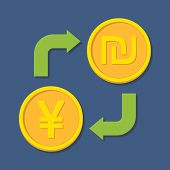 image of yuan  - Currency exchange - JPG