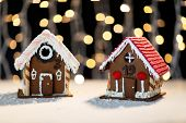 image of gingerbread house  - holidays - JPG