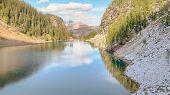 pic of hamlet  - Lake Agnes Tea House Reflection - JPG
