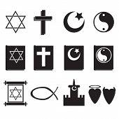 Постер, плакат: religion icons