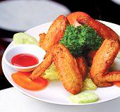 stock photo of chicken wings  - chicken wings - JPG