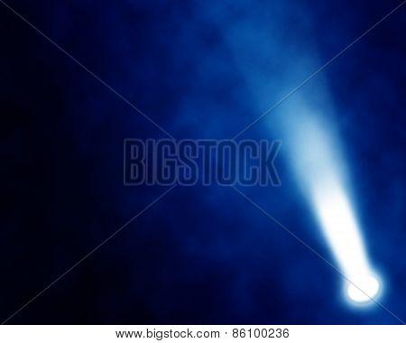 Illustration Of Blue Stage Spotlights