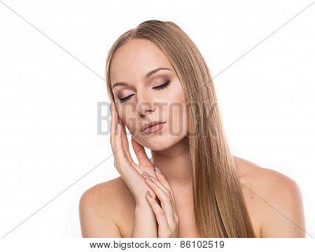 Fashion Stylish Beauty Portrait