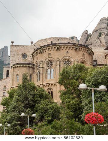 View of Spain's Montserrat