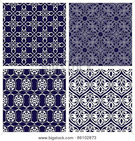 Set of  Patterns in Arabian Style.