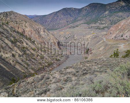 Fraser River Canyon