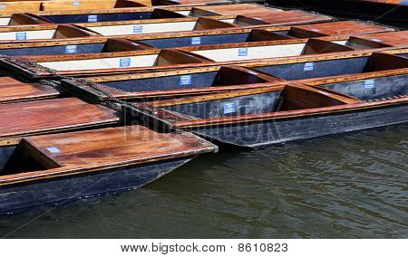 punts - Cambridge England