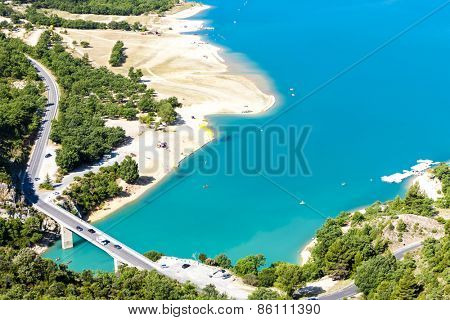 St Croix Lake, Verdon Gorge, Provence, France