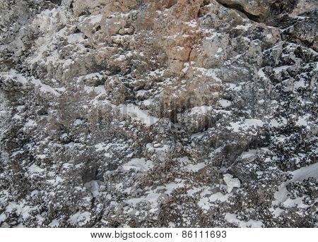 Stone Sea Wall