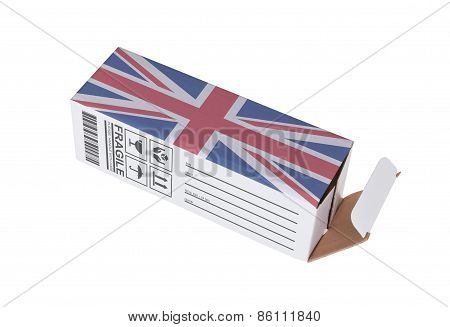 Concept Of Export - Product Of The United Kingdom