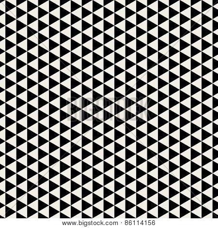 Vector Seamless Pattern. Modern Stylish Texture. Geometric