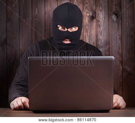 Hacker In A Balaclava