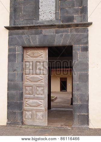 Casa de los Coroneles in La Oliva
