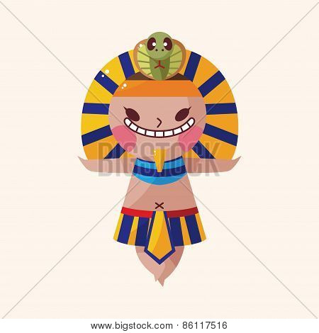 Pharaoh Theme Elements Vector,eps