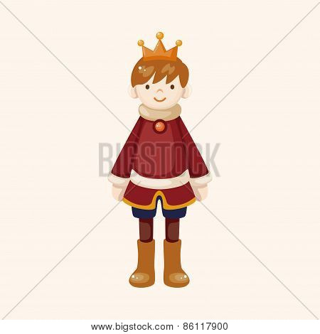 Royal Theme Prince Elements Vector,eps