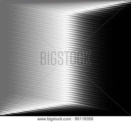 Black and white abstract metalic background with technical texture