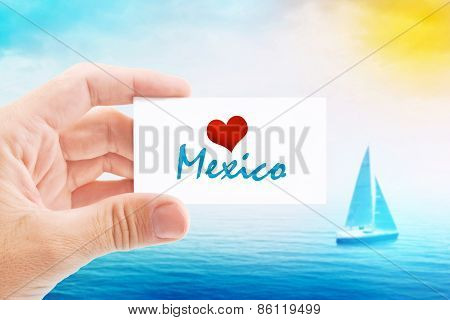 Summer Vacation On Mexico Beach