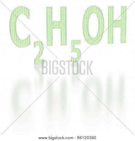 Chemical Formula Of Ethyl Alcohol