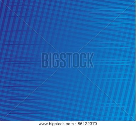 Blue stripe plaid pattern