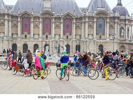 The Velorution Lille (59 Nord, France) Saturday, March 14, 2015, Palais des Beaux Arts