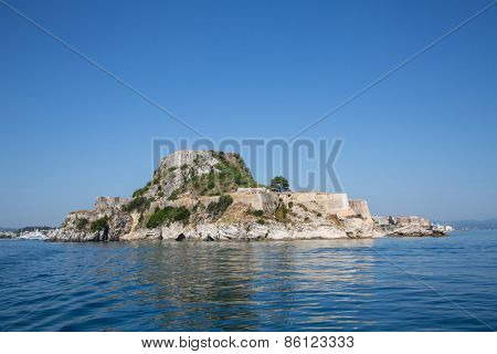 Fortress of Corfu city on the greek island of Kerkyra.