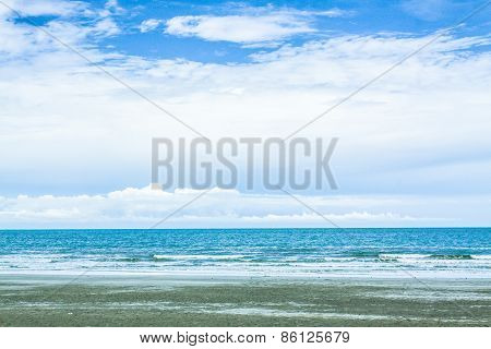 Sky And Beach