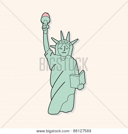 Liberty Statue Theme Elements