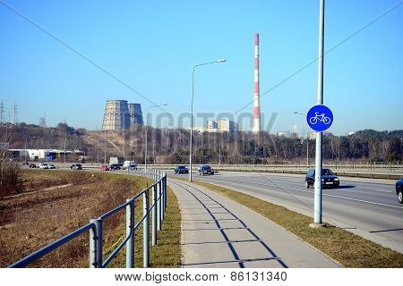 Highway From Vilnius To Kaunas City Is Most Used