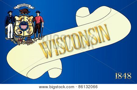 Wisconsin Scroll