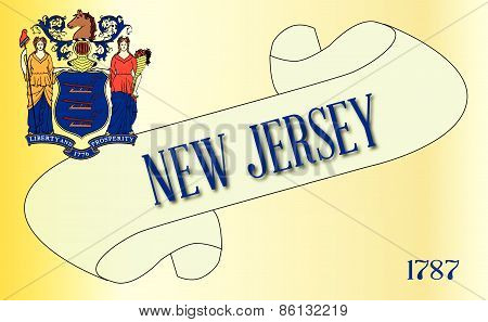 New Jersey Scroll