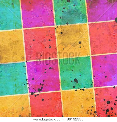 Vintage Color Squares