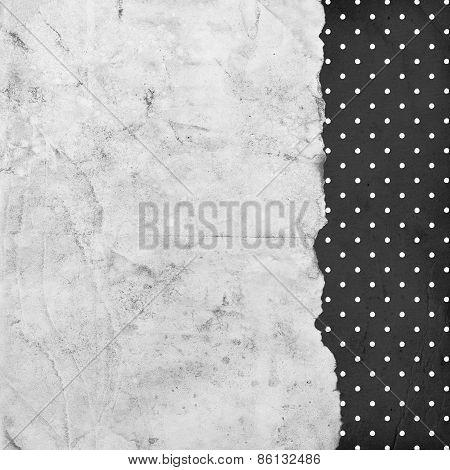 Vintage Dotted Background