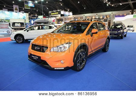 BANGKOK - MARCH 25: Subaru XV car on display at The 36 th Bangkok International Motor Show on March