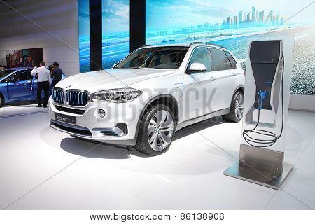 Bangkok - March 24: Bmw X5 Edrive Car On Display At The 36 Th Bangkok International Motor Show On Ma