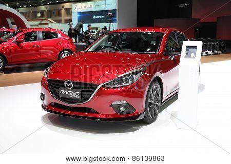 Bangkok - March 24: Mazda Racing Series Car On Display At The 36 Th Bangkok International Motor Show