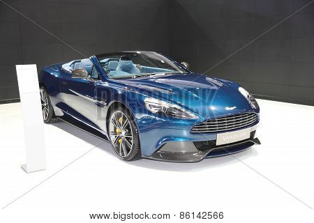 BANGKOK - MARCH 25: Aston Martin Vanquish car on display at The 36 th Bangkok International Motor Sh